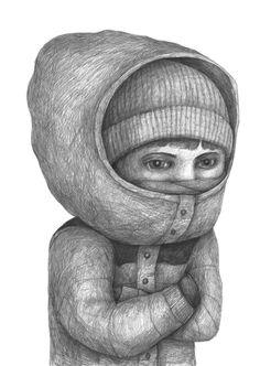 Drawings 2013 part 2 by Stefan Zsaitsits, via Behance