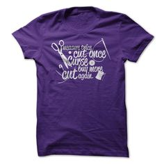 Measure Twice Cut Once Curse >> Click Visit Site to get yours hot Shirts & Hoodies - Only $19 - $21. #tshirts, #photo, #image, #hoodie, #shirt, #xmas, #christmas, #gift, #presents, #LifeStyleShirts