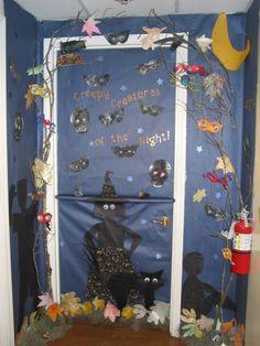 creepy creatures of the night door design