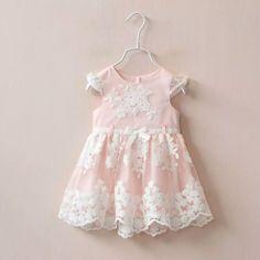 Rose Lace Dress - Little Livey