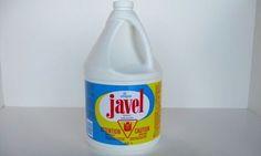 Utilisez du vinaigre blanc, du bicarbonate ou de l'eau oxygénée à la place de l'eau de javel