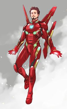 Iron-man / Tony Stark || Avengers Infinity War || Cr: yukko