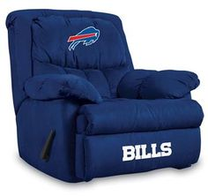 Use this Exclusive coupon code: PINFIVE to receive an additional 5% off the Buffalo Bills Home Team Recliner at SportsFansPlus.com