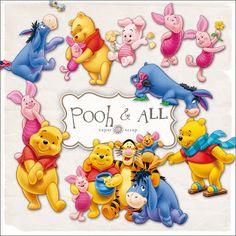 free printable/Download Pooh & Friends Kit