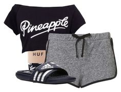 """Untitled #109"" by newyorkbae ❤ liked on Polyvore featuring adidas"