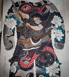 Pintura en progreso,en combinación con un gran Artista y Persona @gonzablackdog 🙏🙏 Chest Tattoo Japanese, Japanese Tattoo Art, Japanese Dragon Tattoos, Japanese Tattoo Designs, Japanese Sleeve Tattoos, Dragon Tattoo Back Piece, Dragon Sleeve Tattoos, Dream Tattoos, Body Art Tattoos