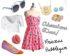 Adventure Time Style! Princess Bubblegum!