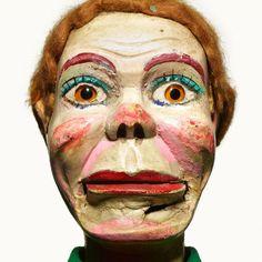 Creepy Photo Portraits Of Retired Ventriloquist Dummies - DesignTAXI.com