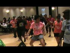 This was at our Convention in July.  Ra'Chel (pink and green shirt) is KILLING it!!!  TNT - Takin' It Step by Step - 2012 S.E. Largest Line Dance Party