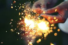 Who knows what we could share if we weren't afraid of throwing sparks...