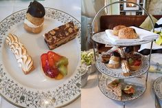 A Sublime Spread in the Sunny South East - Ferrycarrig Hotel Afternoon Tea Boiled Fruit Cake, Irish Tea, Fresh Fruit Tart, Raspberry Preserves, Baked Ham, Different Cakes, Meringue Pie, Favorite Pastime, Ireland Travel