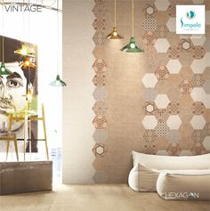 Hexagon Tiles, Your Space, Product Launch, Curtains, Ceramics, Home Decor, Ceramica, Blinds, Pottery