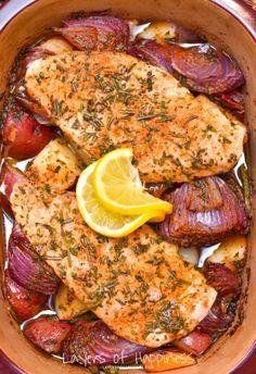 Herby Roasted Chicken & Vegetable Bake | Tasty Kitchen: A Happy Recipe Community!