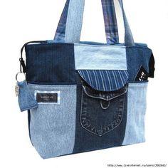 Джинсовые сумки (трафик) / Сумки, клатчи, чемоданы / ВТОРАЯ УЛИЦА - Выкройки, мода и современное рукоделие и DIY