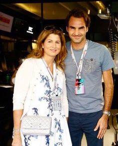 Roger and Mirka at Formula 1 Champion Final CopyRight: Picture Alliance Roger Federer Family, Mirka Federer, Tennis Players, Superman, Hot Guys, Athlete, Champion, King, Formula 1