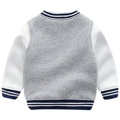 Famuka Baby Boy Spring Coat Little Kids Baseball Cardigan Jacket (Grey, Years) * Check out the image web link even more information. (This is an affiliate link). Baby Girl Jackets, Gray Jacket, 4 Years, Fashion Brands, Men Sweater, Topshop, Baseball, Grey, Spring