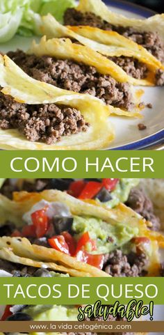 Mexican Food Recipes, Diet Recipes, Healthy Recipes, Cena Keto, Comida Keto, Tomato Sauce Recipe, Keto Taco, Eggplant Recipes, Wrap Recipes