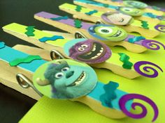 Monsters Inc. Birthday Favors or Treat Bag by OneMoreSunshine, $10.00