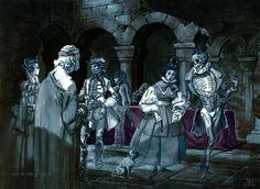 Geek Wonderland: Breathtaking Harry Potter concept art.