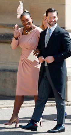 Serena Williams & Alexis Ohanian @ Royal Wedding