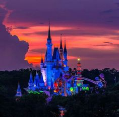 Interesting view of the castle at night!