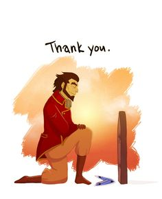 …For showing me I can still make my family proud. Bumi took Sokka's death particularly hard.