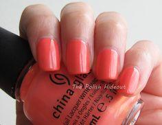 @China Glaze Mimosa's Before Mani's
