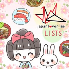 JapanLover.Me Lists / JLM LISTS is a collection of unique Japanese experiences, place recommendations, random #OnlyInJapan trivia, and all sorts of kakkoii information compiled into lists / infographics by the creative JLM team.