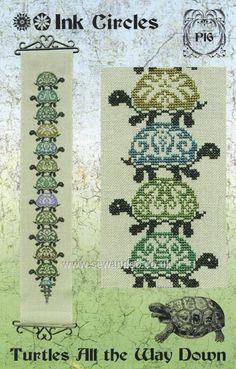 Buy Turtles All The Way Down Chart Online at www.sewandso.co.uk