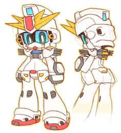 photos and videos by スサガネ susagane03 character design robot art anime chibi