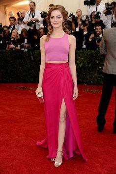 Emma Stone @ Met Awards