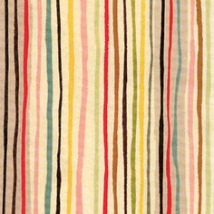 hand drawn stripes...Maybe an entire wall! I love that they are irregular..Seems more likely that I can use this idea!:)