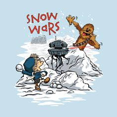 Check out this awesome 'Snow+Wars' design on @TeePublic!