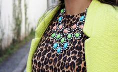 leopard print and jewels