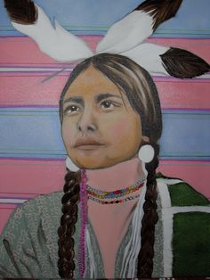 fine oil native american paintings | ... Rodriguez-Tribute to Native American women. Original Paintings (Oils