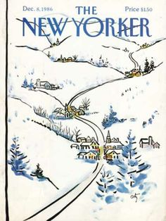 The New Yorker Cover ~ December 8, 1986