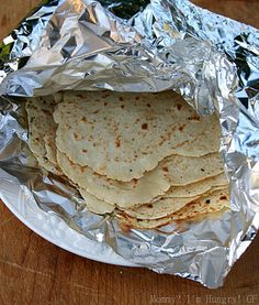 I get so sick of corn tortillas.  I can't wait to try this recipe for gluten-free soft flour tortillas.
