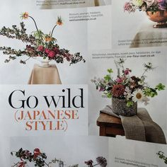It's official we're pretty!  @bridesmagazine said so - we're on 'The Pretty List' in this month's edition alongside some of our fave florists and our Japanese inspired centrepieces