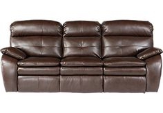 Shop for a Bristol Bay Coffee Blended Leather Reclining Sofa at Rooms To Go. Find Sofas that will look great in your home and complement the rest of your furniture.