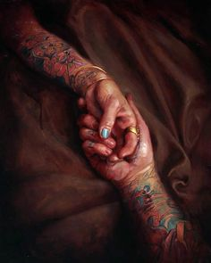 Shawn Barber's oil paintings
