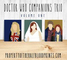 DOCTOR WHO COMPANIONS Minimalist Trio: Volume One