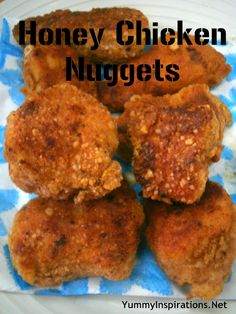 Honey Chicken Nuggets - Yummy Inspirations