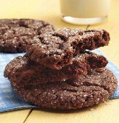 Quick-Mix Chocolate Cookies