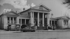 Orange Court House, 1959. Photo:  The Collections of Central West Libraries.