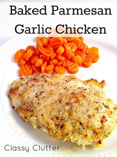 Baked Garlic Parmesan Chicken on MyRecipeMagic.com