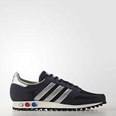 adidas LA Trainer OG schoenen groen zwart wit