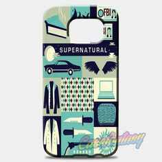 Supernatural Cartoon Samsung Galaxy S8 Case | casefantasy