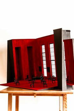 Felype de Lima / Diseño de Escenografía / Maqueta / Carlota / Teatro María Guerrero / CDN / www.felypedelima.com
