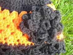 It'sthis the Cutest Hat Ever??!!???  Let's make one.....  Pick your favorite Black and Orange yarn....   I like working with 100% cotton s...