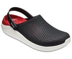 a8c0893a8acec Crocs literide black white unisex clog shoes online. Athletically inspired  black white literide